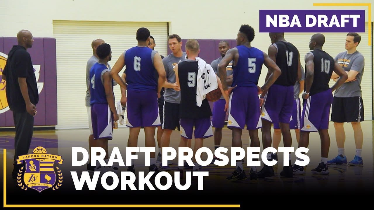 Lakers Draft Workouts: Bell, Alford, Bacon, Brimah, Walton Jr., Meeks