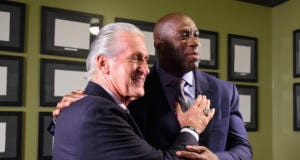 Pat Riley, Magic Johnson, Lakers