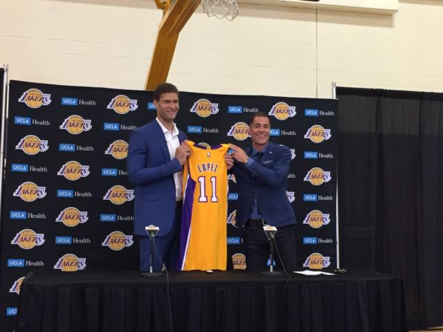 Brook Lopez Calls Playing For Lakers 'a Dream Come True'