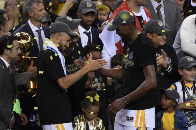 Nba Finals Highlights: Warriors Win Second Championship As Kevin Durant Nets Finals Mvp