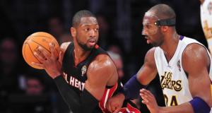 Dwyane Wade, Kobe Bryant, Lakers, Heat