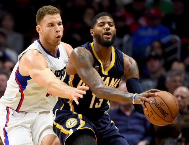 Paul George Blake Griffin Pacers Clippers