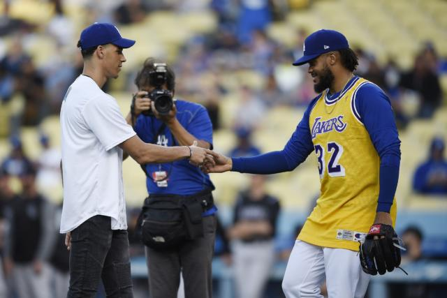 Dodgers Closer Kenley Jansen: Lakers Future Is 'looking Bright'