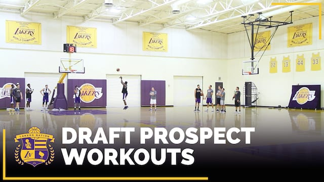 Lakers Draft Workouts: Cline, Evans, Hart, Morris, Roberson, Moute A Bidias