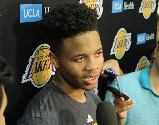 Markelle Fultz's Interview With The L.a. Media (video & Transcript)