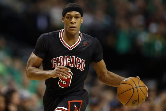 Nba News: Bulls Release G Rajon Rondo Amidst Rebuild Following Jimmy Butler Trade