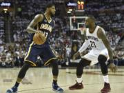 Paul George, Pacers, LeBron James, Cavaliers
