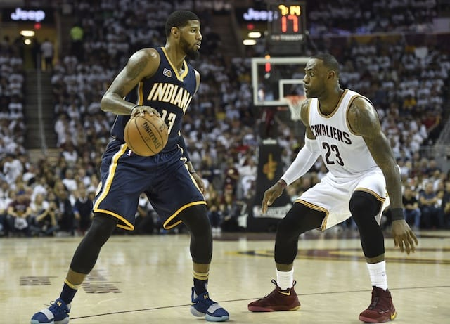 Paul George 'doesn't Plan' To Talk To Lebron James This Summer About Teaming Up