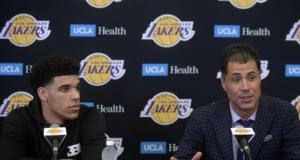 Lonzo Ball, Lakers, Rob Pelinka