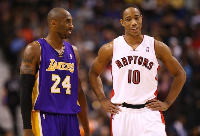 Demar Derozan Discusses Advice Lakers Legend Kobe Bryant Has Given Him In The Past