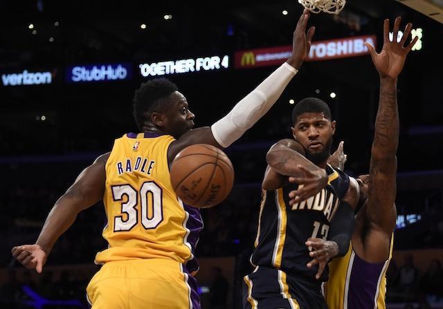Paul George, Pacers, Julius Randle, Lakers