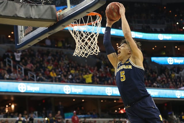 Lakers Draft Rumors: L.a. 'high' On Michigan Big Man D.j. Wilson