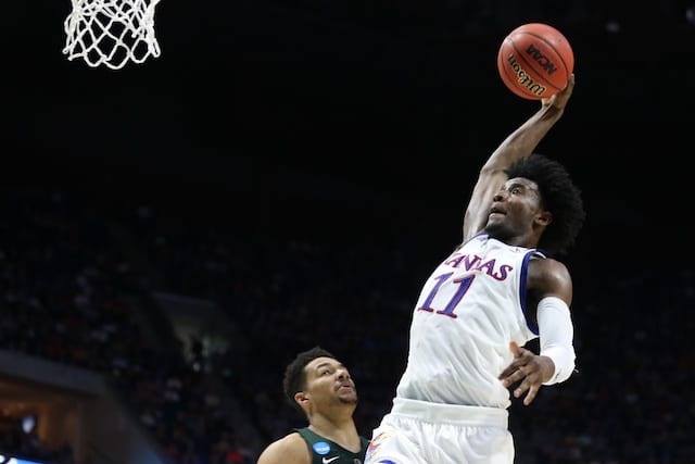 Nba Draft Prospect Josh Jackson Thanks Lakers After Working Out For L.a.