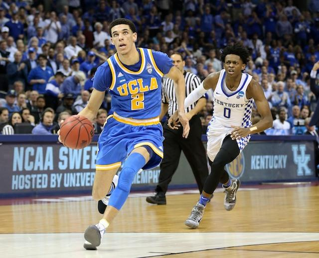 Lonzo Ball, De'Aaron Fox, NBA Draft
