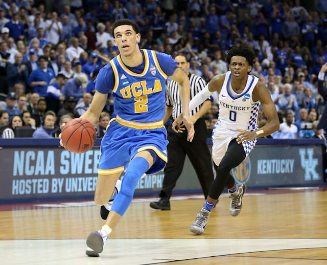 Lakers News: Lonzo Ball Among 10 Players Invited To Nba Draft In New York