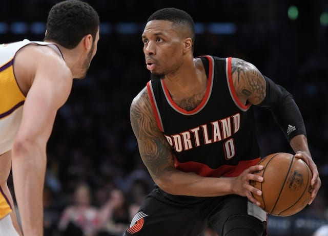 c23a0617bb4 Damian Lillard Admits If Blazers Didn't Want Him Lakers Would Be A Team He