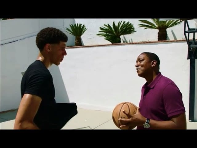 Lakers Video: Lonzo Ball Has One-on-one Work Out With Nba Legend Isiah Thomas