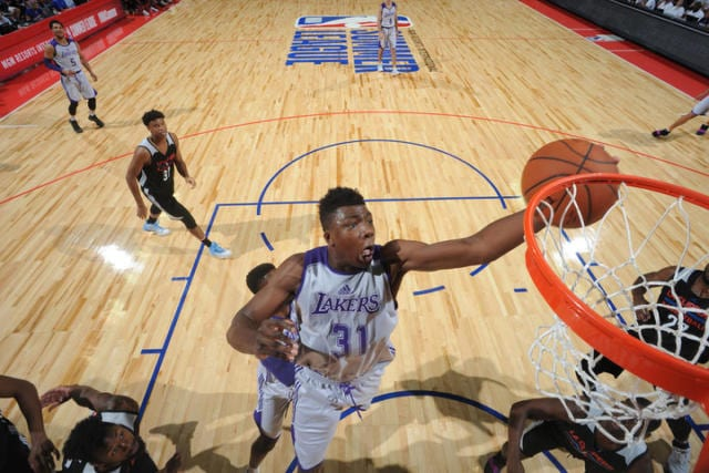 Brandon Ingram, Lonzo Ball Praise Thomas Bryant's Energy In Summer League Debut