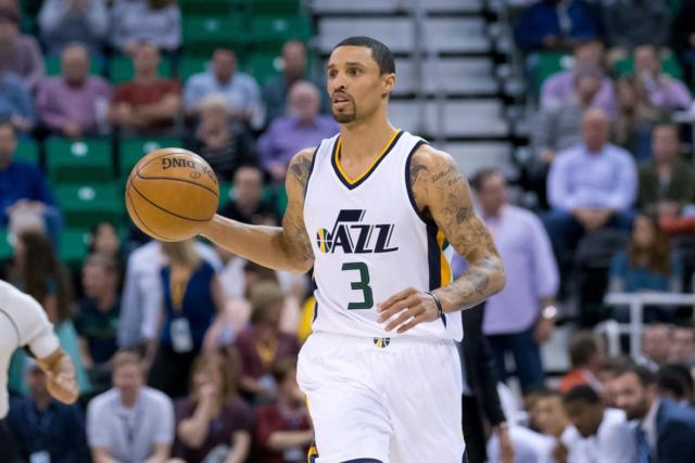 George Hill Jazz Lakers