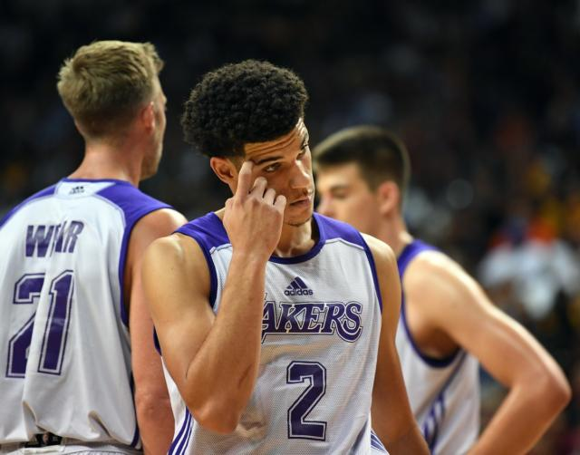 Lonzo Ball On Summer League Performance: 'only Way I Can Go Now Is Up'
