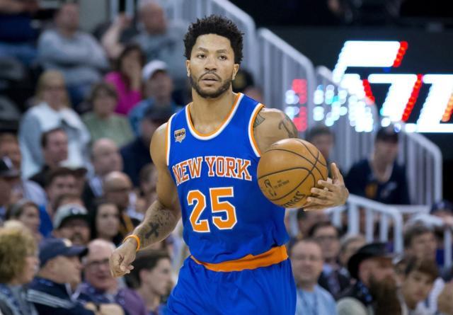 Derrick Rose Knicks Lakers