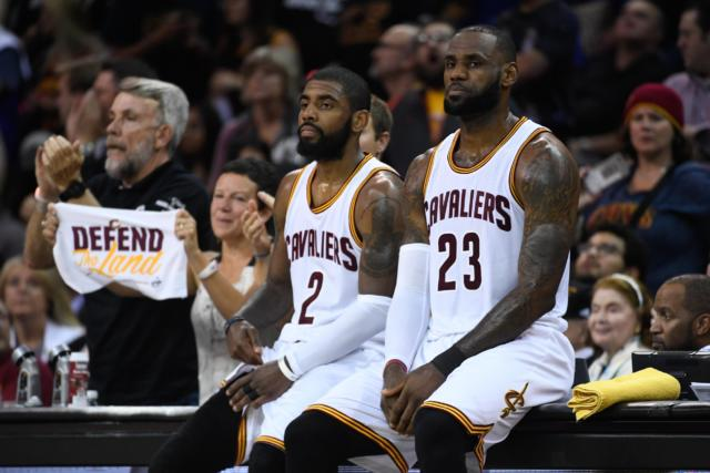 LeBron James Kyrie Irving Cavaliers