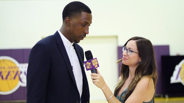 Kentavious Caldwell-pope Interviews With Lakers Nation (video)