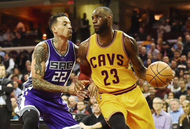 Matt Barnes Suggests Lebron James To Lakers Would Be 'trouble' For Nba