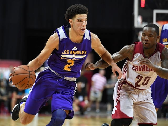 Lakers' Lonzo Ball Earns Nba Summer League Mvp Honors