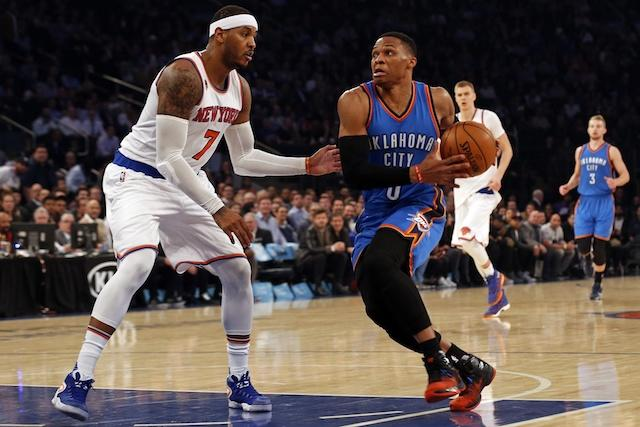 Carmelo Anthony, Russell Westbrook, Knicks, Thunder