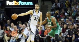 Marc Gasol, Grizzlies, Celtics