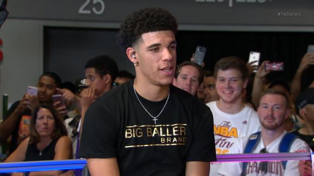 Lakers Video: Lonzo Ball Plays 'baller Or Nah' With Nba Tv's The Starters