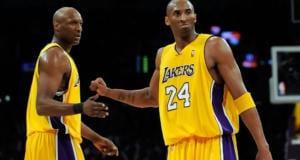 Kobe Bryant Lamar Odom Lakers