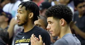 Lonzo Ball Brandon Ingram Lakers