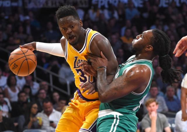 Julius Randle Lakers Celtics