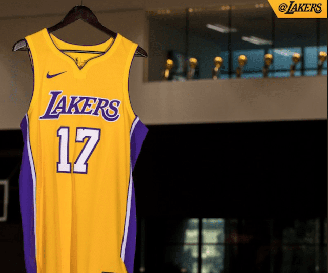 417fcda6e Lakers News  2017 Nike Jerseys Unveiled - Lakers Nation