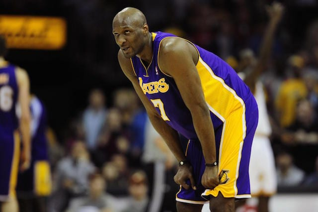 Lamar Odom, Lakers