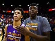 Lonzo Ball, Thomas Bryant