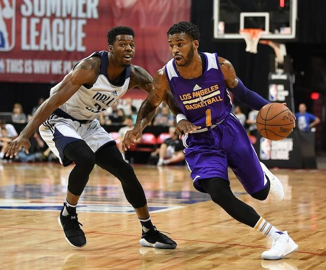 Vander Blue Lakers Summer League