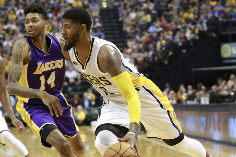 Lakers Podcast: Key Games For L.a., Should L.a. Fans Cheer For Paul George, Kobe Bryant Vs Lebron James