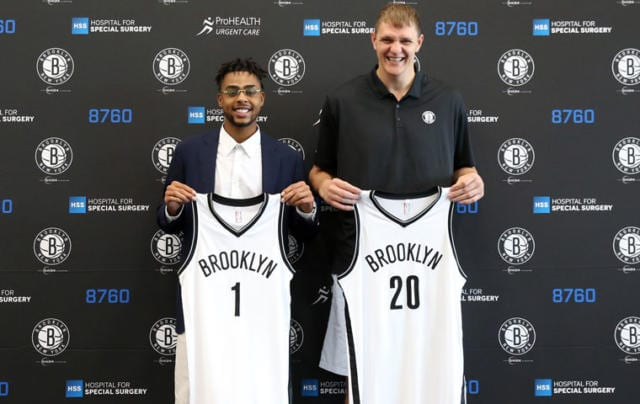 Nba News: Timofey Mozgov Thinks D'angelo Russell Will 'score A Lot' For Nets