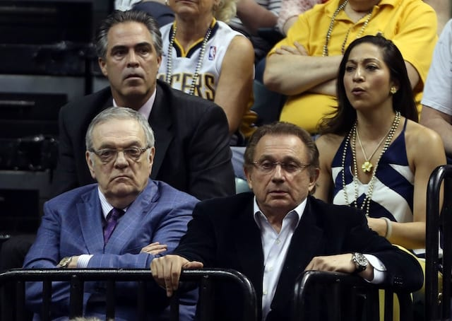 Pacers Owner Herb Simon May Sue Lakers And Nba Over Tampering Case