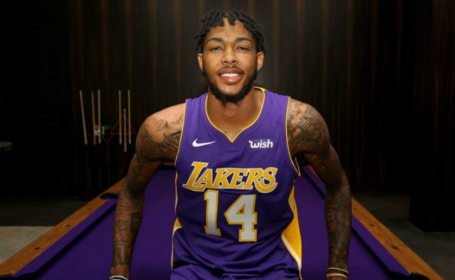 Lakers 'wish' Patch Has The Franchise Looking Good In More Ways Than One
