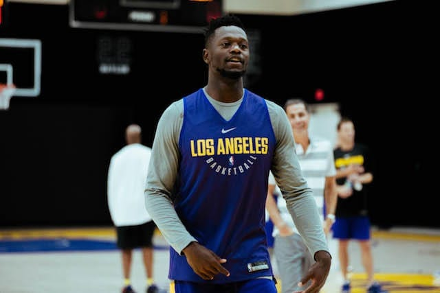 Lakers Training Camp - Day 3- Julius Randle 5