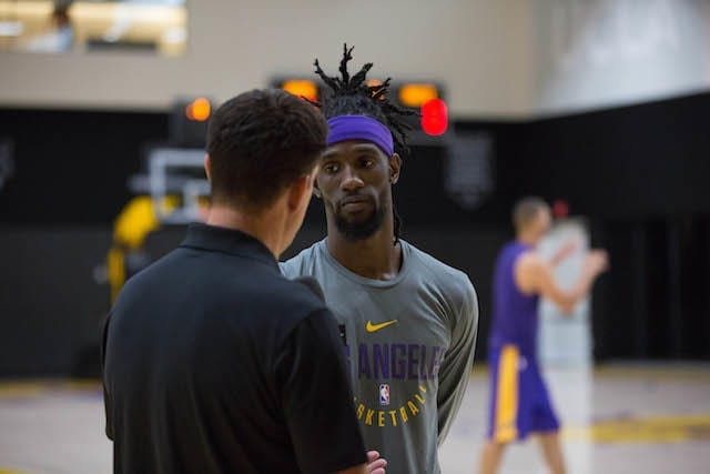 Lakers Training Camp - Briante Weber