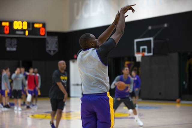 Lakers Training Camp - Luol Deng