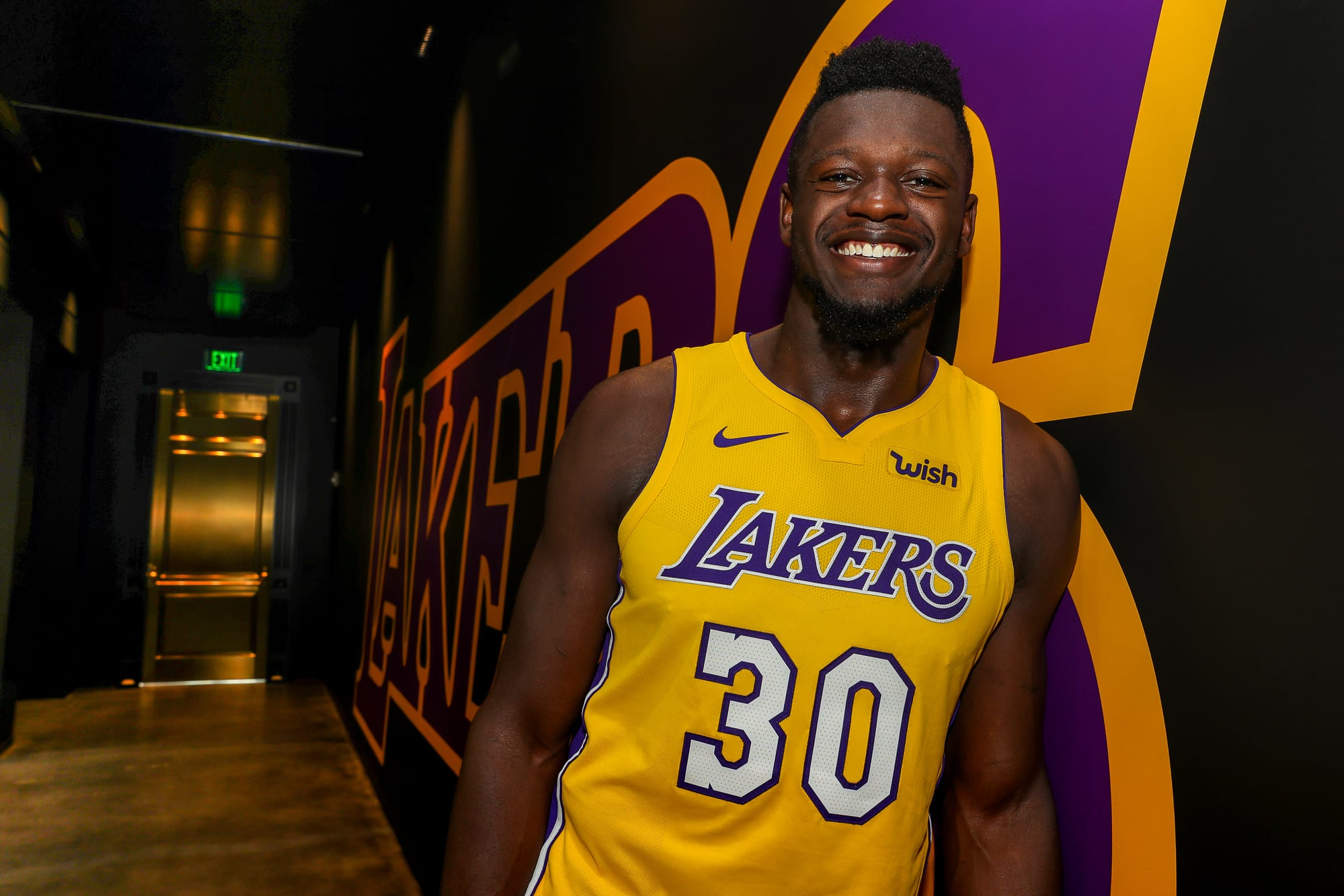 f209d4830a1 Lakers  Wish  Patch Has The Franchise Looking Good In More Ways Than ...