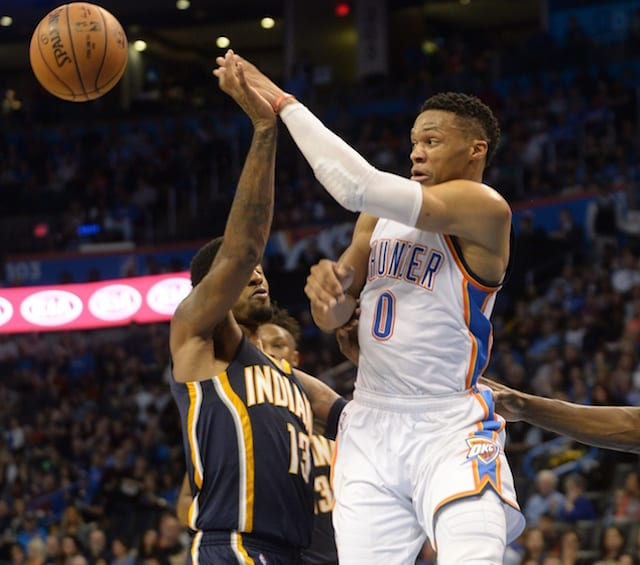 Lakers Rumors: If Russell Westbrook Doesn't Sign Extension In Okc, He Could Team With Paul George Up In L.a.