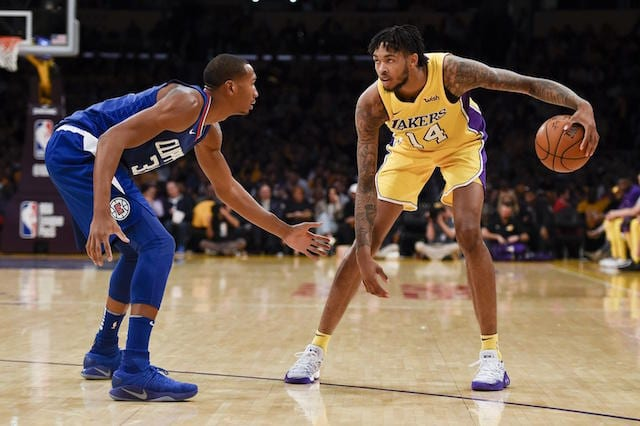 Brandon Ingram Lakers Clippers
