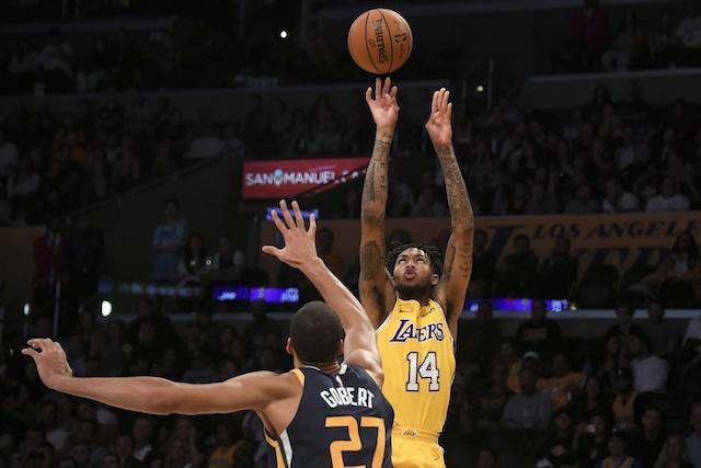 Brandon Ingram, Rudy Gobert Lakers